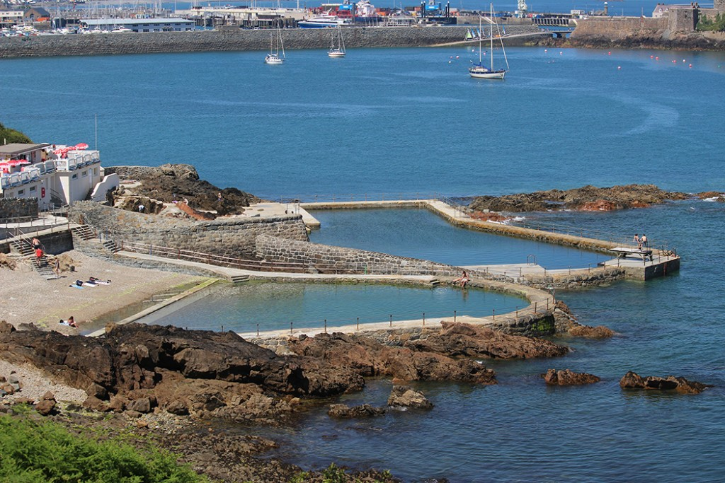 La Vallette Seawater Bathing Pools Guernsey