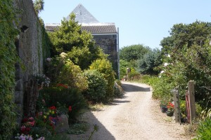Drive Vaugrat Campsite Guernsey