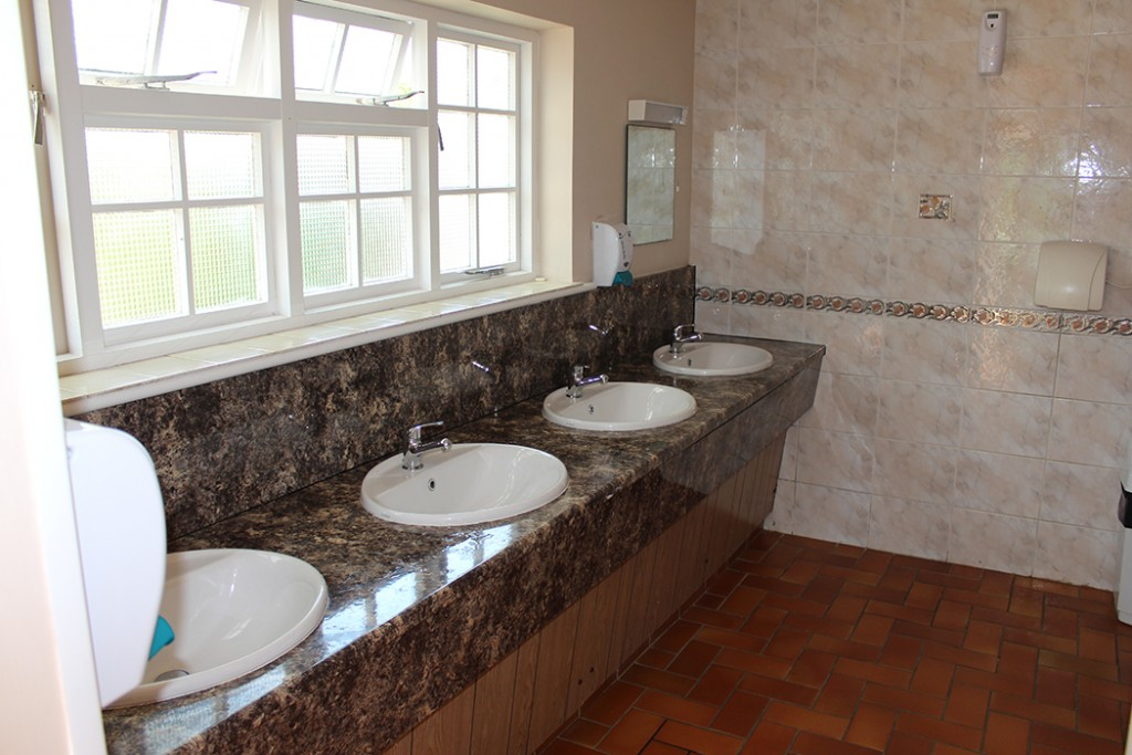Washroom Vaugrat Campsite Guernsey